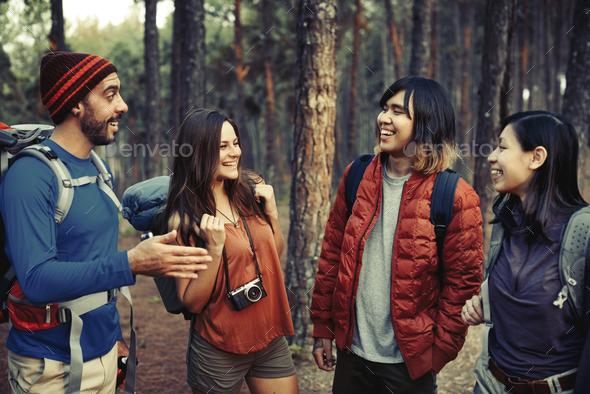 Trek Hiking Destination Experience Lifestyle Concept - Stock Photo - Images
