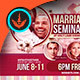 Marriage Seminar Church Flyer Template - GraphicRiver Item for Sale
