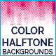 Color Halftone Backgrounds