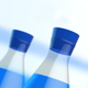 Blue Filled Test Tubes - VideoHive Item for Sale