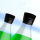Green Filled Test Tubes - VideoHive Item for Sale