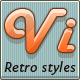 Retro Text Styles - GraphicRiver Item for Sale