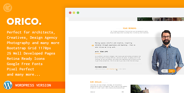 Orico - Creative & Architect Agency WP Theme - Miscellaneous WordPress