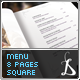 Elegant Menu - GraphicRiver Item for Sale