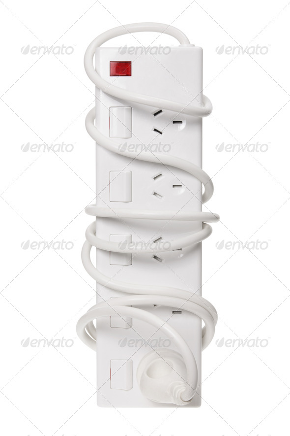 Power Strip - Stock Photo - Images