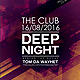 Deep Night Party Flyer/Poster - GraphicRiver Item for Sale