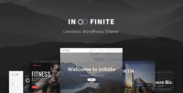 Infinite – Responsive Multi-Purpose WordPress Theme