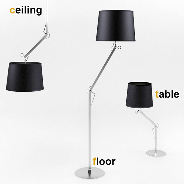 Eseo Brevi Lamp Set - 3DOcean Item for Sale