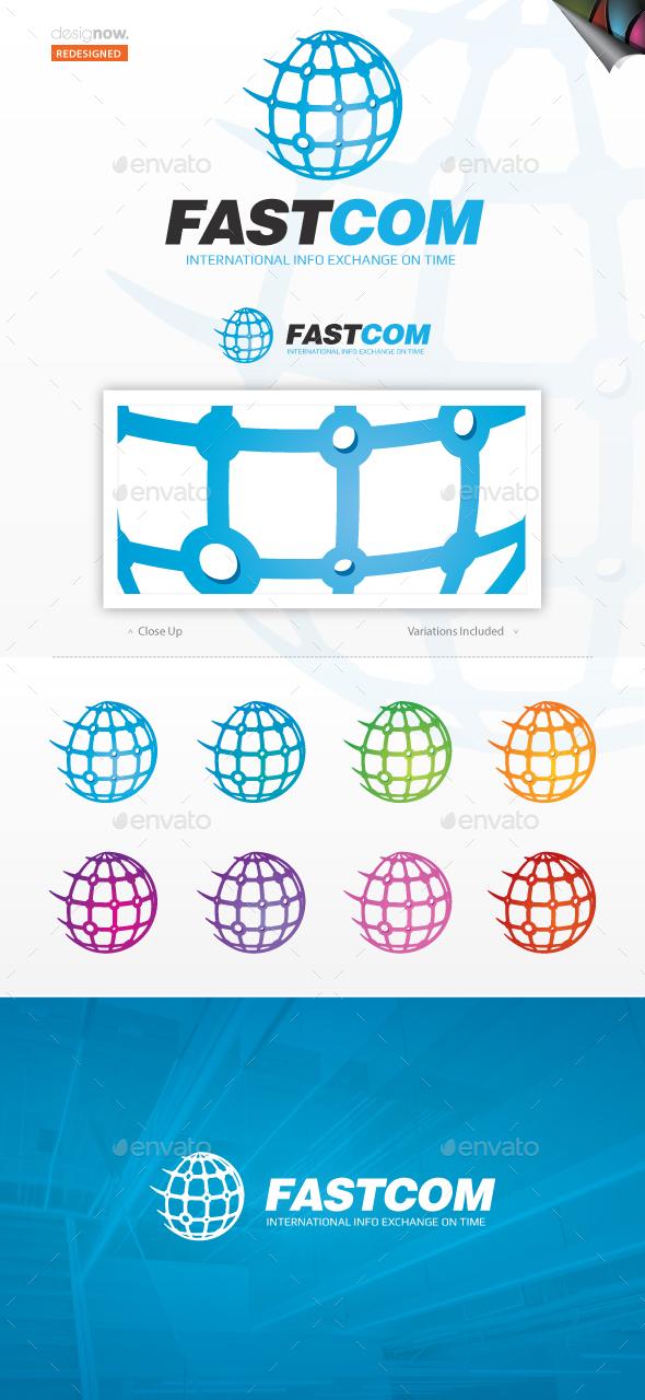 Fast Com Logo - Symbols Logo Templates