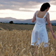 Woman in a Wheat Field - VideoHive Item for Sale