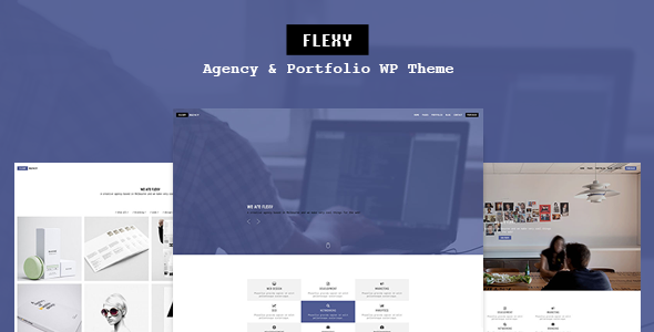 Flexy - Agency & Portfolio WP Theme - Creative WordPress