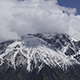 Snow Covered Mountain Tops Russia Caucasus. - VideoHive Item for Sale