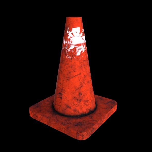 Cone - 3DOcean Item for Sale