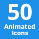 50 Animated Icons - VideoHive Item for Sale