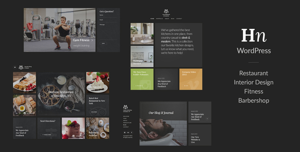Hudson – Creative Responsive Retina-Ready Theme