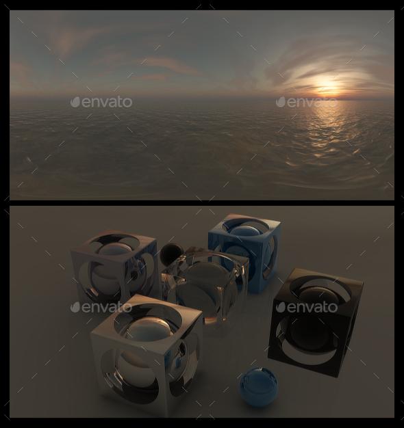 Ocean Dawn 11 - HDRI - 3DOcean Item for Sale