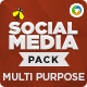 Multi Purpose Social Media Pack - GraphicRiver Item for Sale