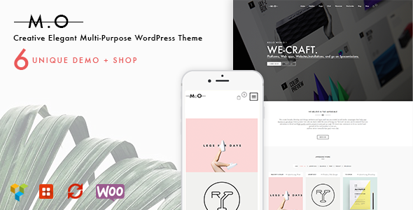 MO - Creative Multi-Purpose WordPress Theme - Creative WordPress