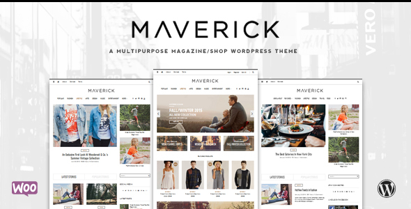 Maverick – Multipurpose WordPress Blog, Magazine and Shop