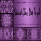 Stained Glass Deep Purple – Background (5 in 1)  - VideoHive Item for Sale