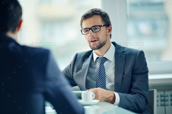 Young employee - Stock Photo - Images