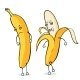Cartoon Banana Characters - GraphicRiver Item for Sale