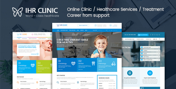 IHR Clinic HTML5 Template