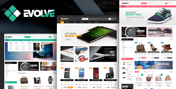 Evolve - eCommerce HTML Template