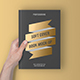 Soft Cover Book With Foil Stamping Mock-Up - GraphicRiver Item for Sale