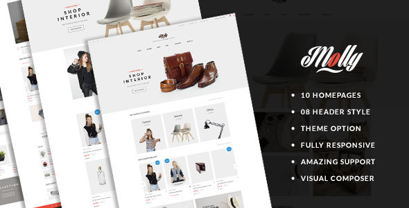 Molly - Multi-Purpose Premium Responsive Prestashop Theme