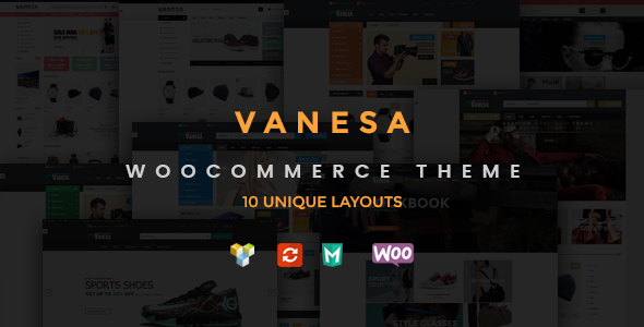 Vanesa Responsive WooCommerce Fashion Theme