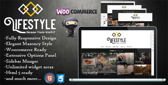 Lifestyle – Multipurpose Blog/Magazine Theme