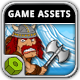 Olaf The Viking - Game Assets - GraphicRiver Item for Sale