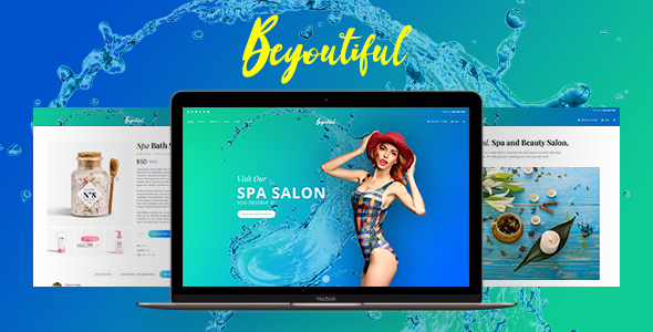 Spa Beauty and Hair Salon WordPress Theme – Beyoutiful