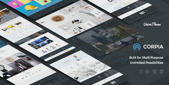 Corpia – Design Driven & Multipurpose Theme