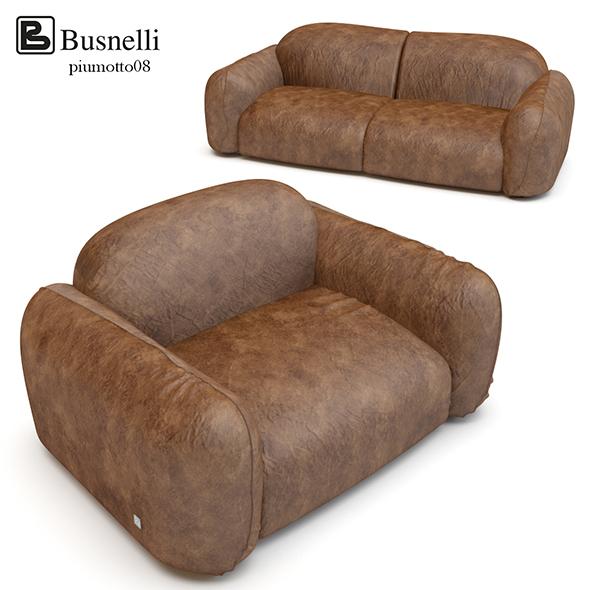 Busnelli Piumotto08 - 3DOcean Item for Sale