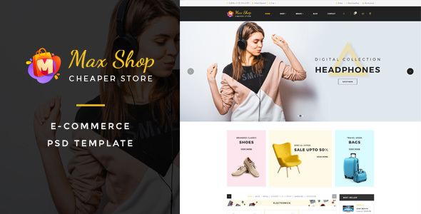 Maxshop – Responsive WooCommerce WordPress Theme