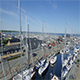 Aerial Of Sailboats In The Harbor Part 7 - VideoHive Item for Sale