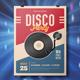 Retro Disco Party Flyer  - GraphicRiver Item for Sale