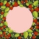 Strawberries Background With Leaves, Berries And - GraphicRiver Item for Sale