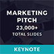 Marketing Pitch Deck Keynote Template - GraphicRiver Item for Sale