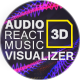 Audio React Music Visualizer 3D - VideoHive Item for Sale