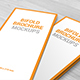 10 DL Bifold Brochure Mockups - GraphicRiver Item for Sale