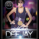 Nightclub Deejay  (Flyer Template 4x6) - GraphicRiver Item for Sale