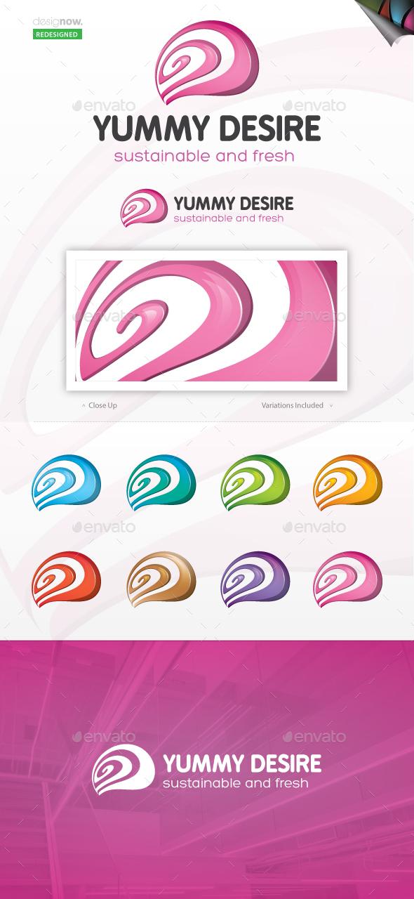 Yummy Desire Logo - Abstract Logo Templates