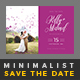 Minimalist Save The Date Postcard | Volume 2 - GraphicRiver Item for Sale
