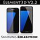 E3D - Samsung GALAXY S7 + S7 Edge + note 5 COLLECTION