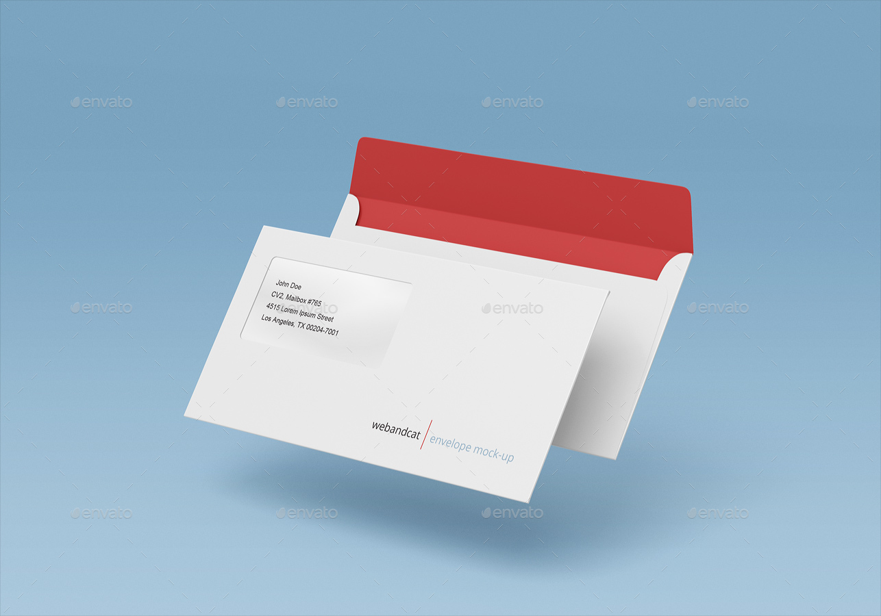 Wonderful Envelopes Mockup Bundle