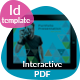 Interactive PDF Triangle Photographer Portfolio No8 - GraphicRiver Item for Sale