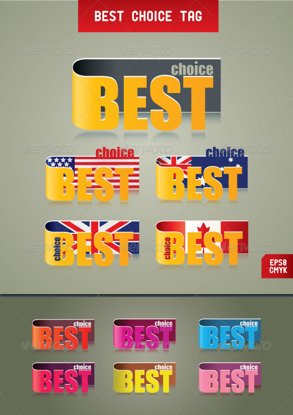 Best Choice Tags. - Retail Commercial / Shopping
